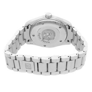 Omega Seamaster Aqua Terra Steel Silver Dial Quartz Mens Watch 2517.30.00