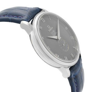 Omega DeVille Prestige Co-Axial Steel Gray Dial Automatic Mens Watch 4813.40.01