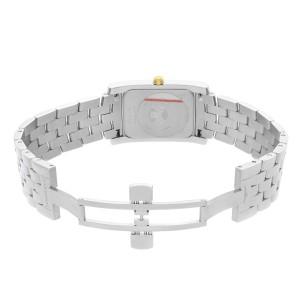 Longines DolceVita Stainless Steel Silver Dial Quartz Unisex Watch L5.655.5.70.6