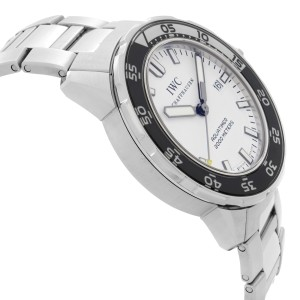 IWC Aquatimer 2000 Stainless Steel White Dial Automatic Mens Watch IW356809