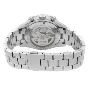 Tag Heuer Carrera Steel Chronograph Black Dial Automatic Men Watch CV2010.BA0786