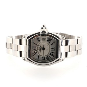 Cartier Roadster Automatic Watch Stainless Steel 39