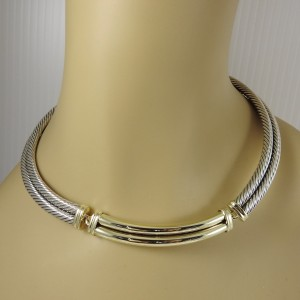 David Yurman Metro Sterling Silver  Necklace