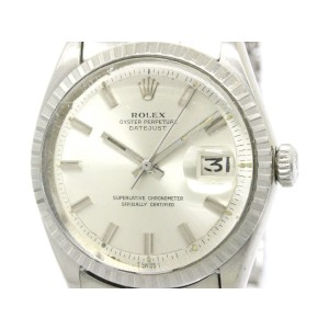 Rolex Datejust 1603 Stainless Steel Automatic 36mm Mens Watch