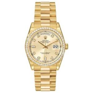 Rolex DayDate Presidential 18K Yellow Gold 36mm Watch