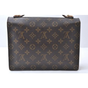 Louis Vuitton Monogram Monceau26 Hand Bag Briefcase M51187