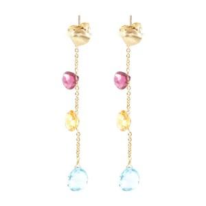 Marco Bicego Aruba 18K Yellow Gold Drop Dangle Earrings