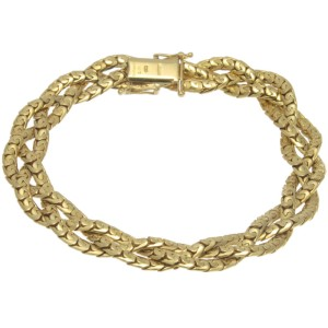 Tiffany & Co. 18K Yellow Gold Necklace Bracelet Set