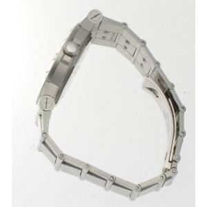 Bvlgari Lcv35S Bulgari Diagono Stainless Steel  Black Dial With Diamonds Watch