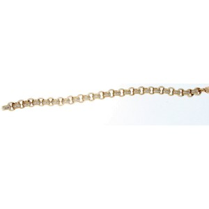 Tiffany & Co. 18k Yellow & White Gold Link Bracelet