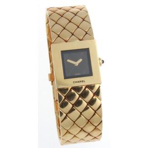 Chanel Matelasse 18K Yellow Gold Women's Watch