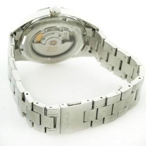 Tag Heuer Carrera WV211B-1 Stainless Steel & Black Dial 43mm Mens Watch