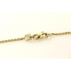 Louis Vuitton 18K Rose and Yellow Gold Gold Apple Pendant & Chain Necklace