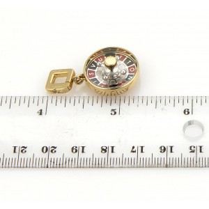 Louis Vuitton 18K Yellow and White Gold Casino Roulette Pendant