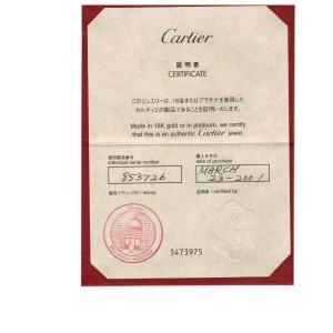 Cartier Love Diamond 18K Yellow Gold Oval Mini Ring Charm Pendant