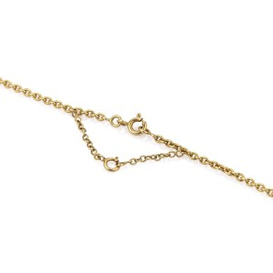 Cartier 18K Tri-Color Gold 3 Disc Shape Dangle Pendant Necklace