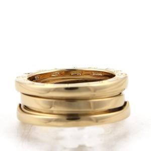 Bulgari B Zero-1 18K Yellow Gold Band Ring Size 5.5