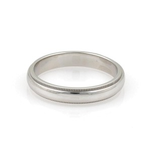 Tiffany & Co. PT950 Platinum Wedding Ring Size 10.5