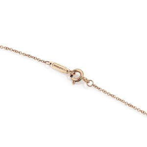 Tiffany & Co. 18K Rose Gold Hugs & Kisses Pendant & Chain Necklace
