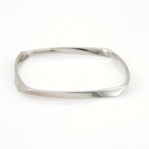 Tiffany & Co. Gehry 18K White Gold Bracelet