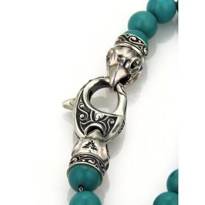 Stephen Webster London Sterling Silver Turquoise Bracelet