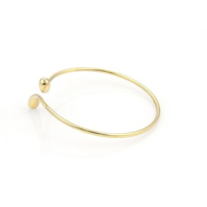 Tiffany & Co. Peretti Elongated Teardrop 18K Yellow Gold Bracelet
