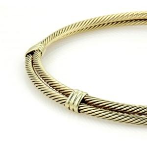 David Yurman Cable 14K Yellow Gold Necklace