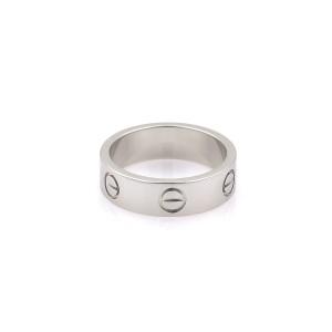 Cartier Platinum Ring Size 6