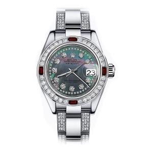 Rolex Diamond 178274 31mm Womens Watch