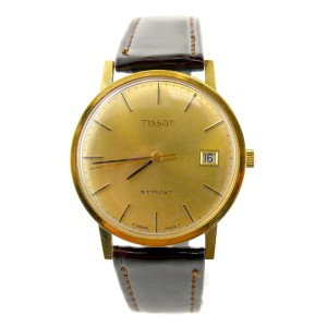 Tissot 34mm Mens Vintage Watch