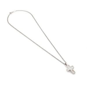 Chopard 18K White Gold Diamond, Sapphire Pendant