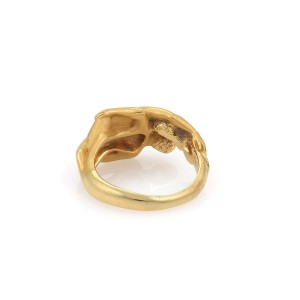 Carrera Y Carrera 18K Yellow Gold Ring Size 5.5