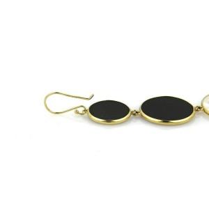 Ippolita Rock Candy Snowman Onyx & MOP 18k Gold Earrings - Rt. $1,995