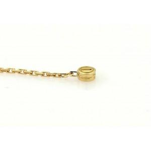 Cartier Love Diamond 18k Yellow Gold Drop Earrings