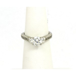 c34d2424a Scott Kay Platinum Diamond Accent Mounting Engagement Solitaire Ring ...