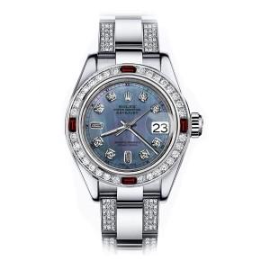 Rolex Diamond 2 31mm Womens Watch