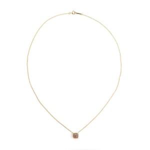 Tiffany & Co Picasso Sugar Stack Multicolor Gems 18k Rose Gold Mini Pendant