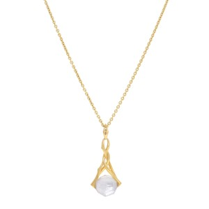 Stephen Webster 18K Yellow Gold with Crystal Pendant Necklace