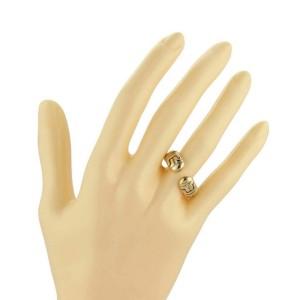 Bulgari Parentesi 18k Yellow Gold 7.5mm Wide Cuff Band Ring