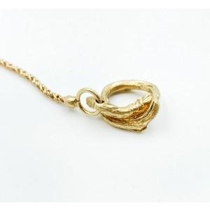 Federica Rettore 18K Yellow Gold Colored Semi Precious Stones Necklace 46.33gm