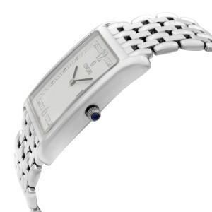 Concord Veneto 18K White Gold Date White Dial Quartz Mens Watch 60-46-625