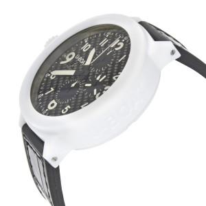 U-Boat Flightdeck 50 White Ceramic Carbon Fiber Dial Automatic Mens Watch 7095