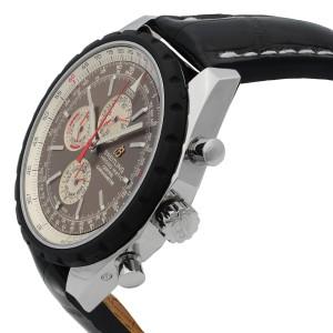 Breitling Chrono-Matic 1461 Chronograph Rubber Bezel Bronze Dial A1936002/Q573