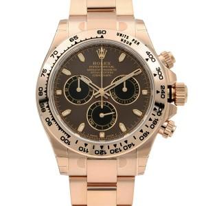 Rolex Cosmograph Daytona 40mm 18K Everose Gold Automatic Mens Watch 116505BKSO