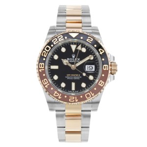 Rolex GMT-Master II 126711 Rootbeer Two Tone Rose Gold Steel Automatic Watch