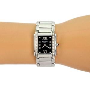 Patek Philippe Twenty-4 Diamond Rectangular Ladies Quartz Watch
