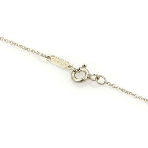 Tiffany & Co. 925 Silver 18k Yellow Gold Nature Leaf Pendant Necklace