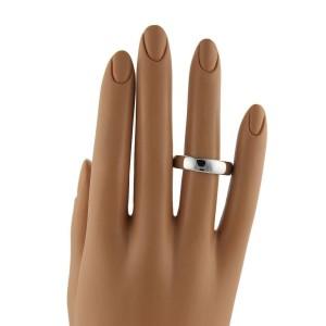 Tiffany & Co. Platinum 6mm Wide Plain Wedding Band Ring Size11.75