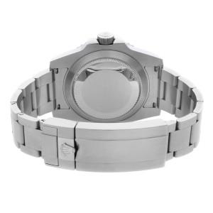 Rolex Submariner Date Steel Ceramic Black Dial Automatic Mens Watch 116610LN