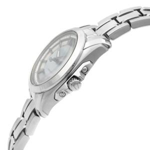 Bulova Precisionist Stainless Steel MOP Dial Date Quartz Womens Watch 96M108